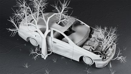 dead Mercedes benz III