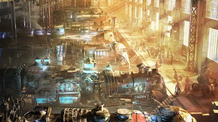 Steampunk World: Station 45