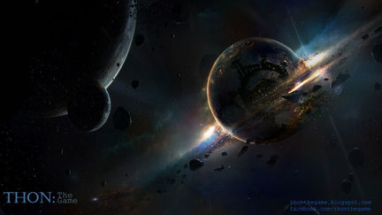 Breaking of an artificial planet