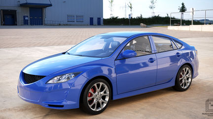 Render automotive for a new service