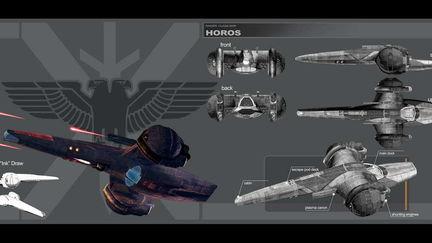 Horos - raider gunboat concept
