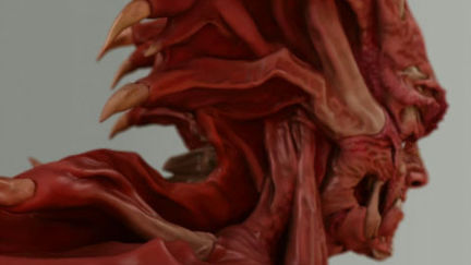 DEVILMAN Bust - Turntable 01