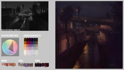 Color Plein-air Demo | Brainstorm School DC1 | VisualPops