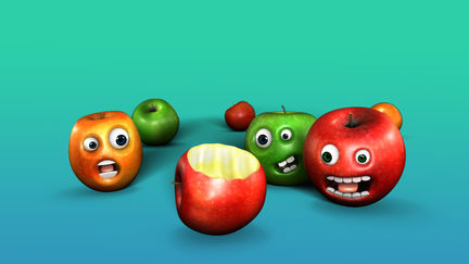 Scared Apples