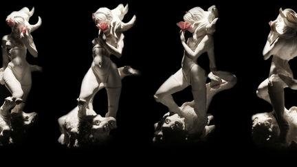 Conquer - Resin Statue