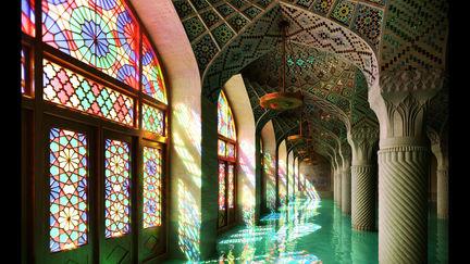 Nasir al molk mosque interior