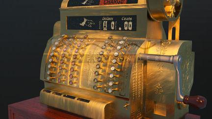 Old National Cash Register