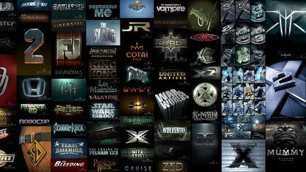3D Logos Part II Metal 3D Logo Design and 3D Illustration for Key Art