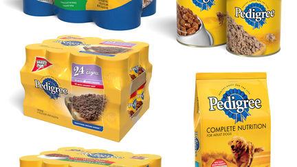 Pedigree Dog Food Packaging