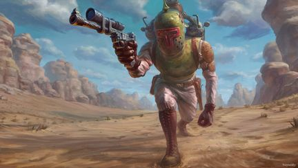 Star Wars Reimagined: Boba Fett World War I