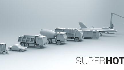 SUPERHOT Vehicles
