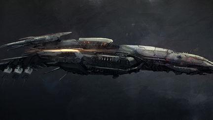 Sci Fi Ship concept 2
