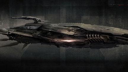 Sci Fi Ship concept