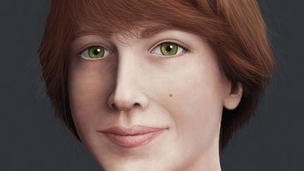 Portrait of a Redhead Teen Male