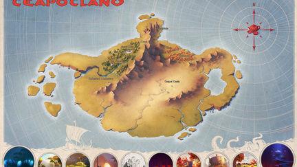 Teapotland map