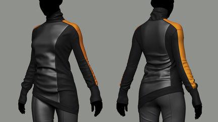 Cyberpunk clothing (practice)