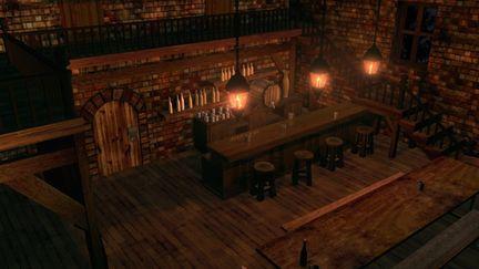 Carmen Opera Bar/Inn Scene