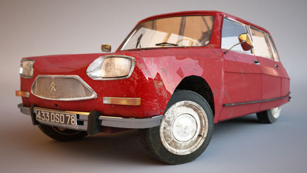 1969 Citröen Ami 8 - Front
