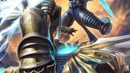Tyrael vs Arthas