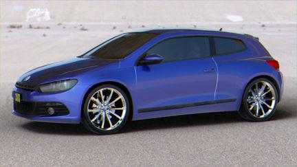 Volkswagen Sirocco.
