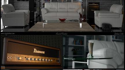 Livingroom and Ibanez
