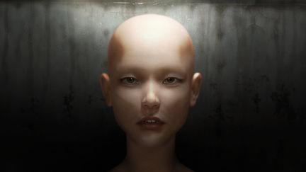female head render