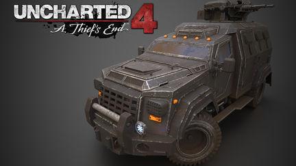 """Uncharted 4 """"beast"""" truck texturing masterclass"""