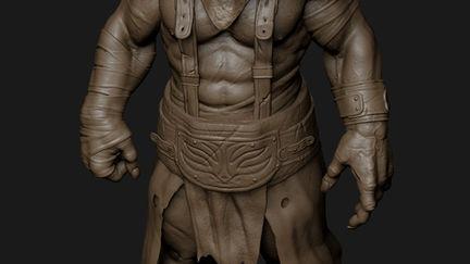 The albino warrior,