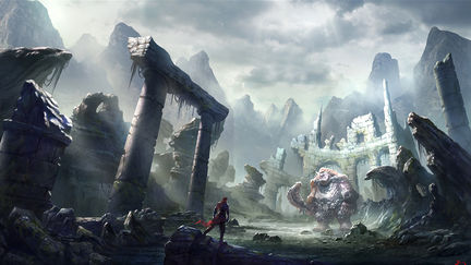 Explore the ruins