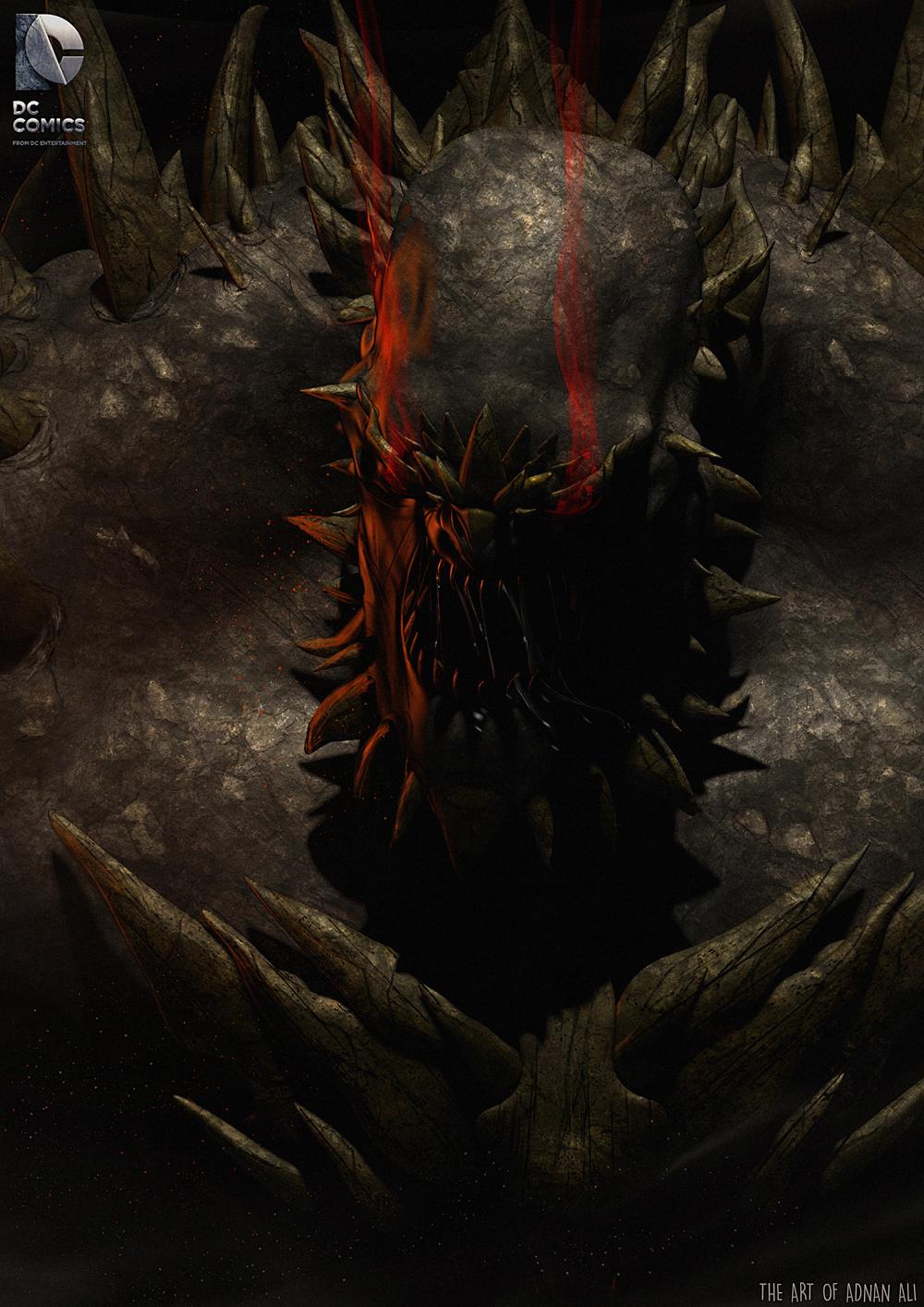 Doomsday By Addu Fan Art 3d Cgsociety