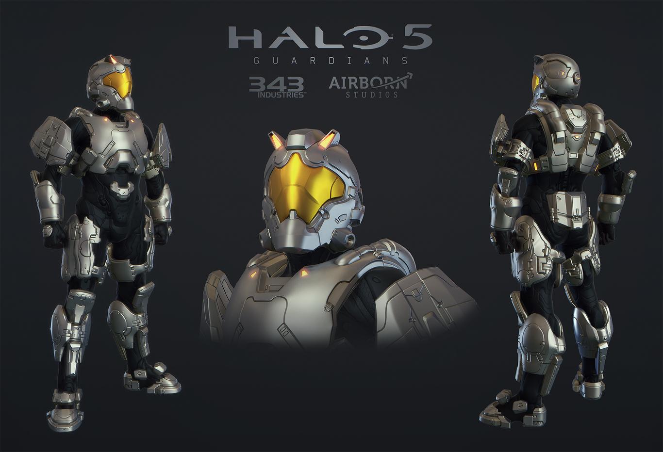 Halo 5 Multiplayer Suit Maveric by AirbornStudios | Sci-Fi | 3D