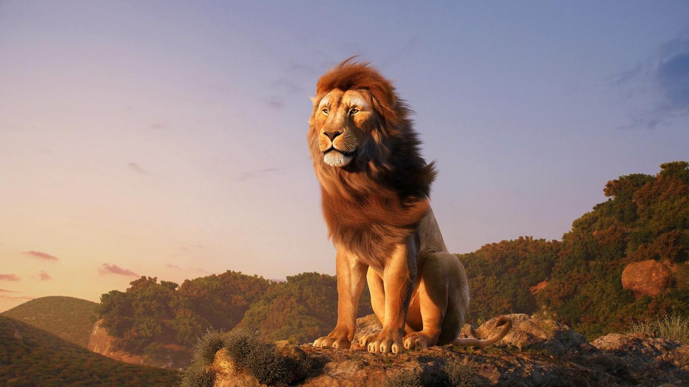 The Lion King Mufasa Aneesh Blender 2 8 By Aneeshchandra Fan Art 3d Cgsociety