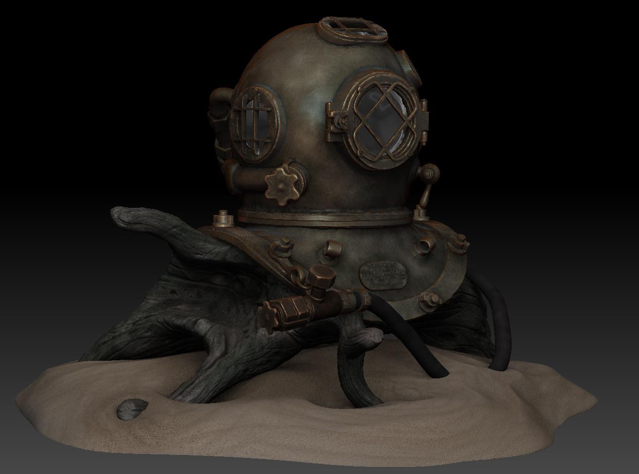 Bipolar desco diving helmet 1 468e6959 ke8v