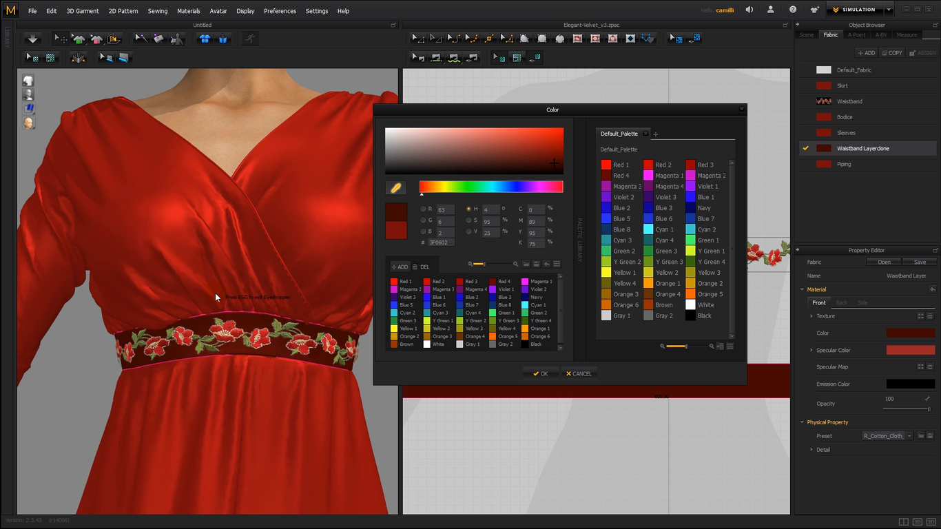 Free Marvelous Designer Tutorial How To Add Trims To Digital 3d Clothing By Camillek Fashion 3d Cgsociety