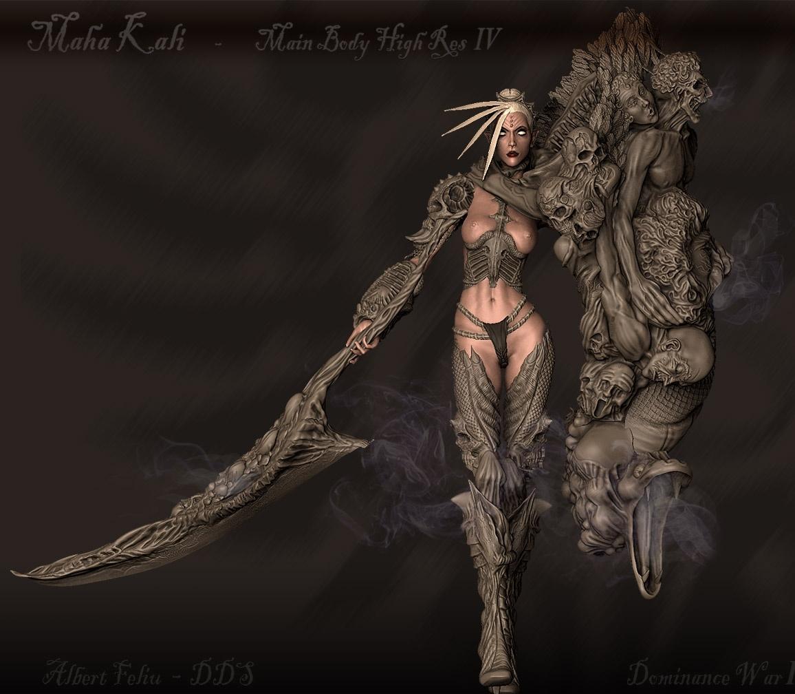 Maha Kali - Demon Goddess - Highres by DDS   3D   CGSociety