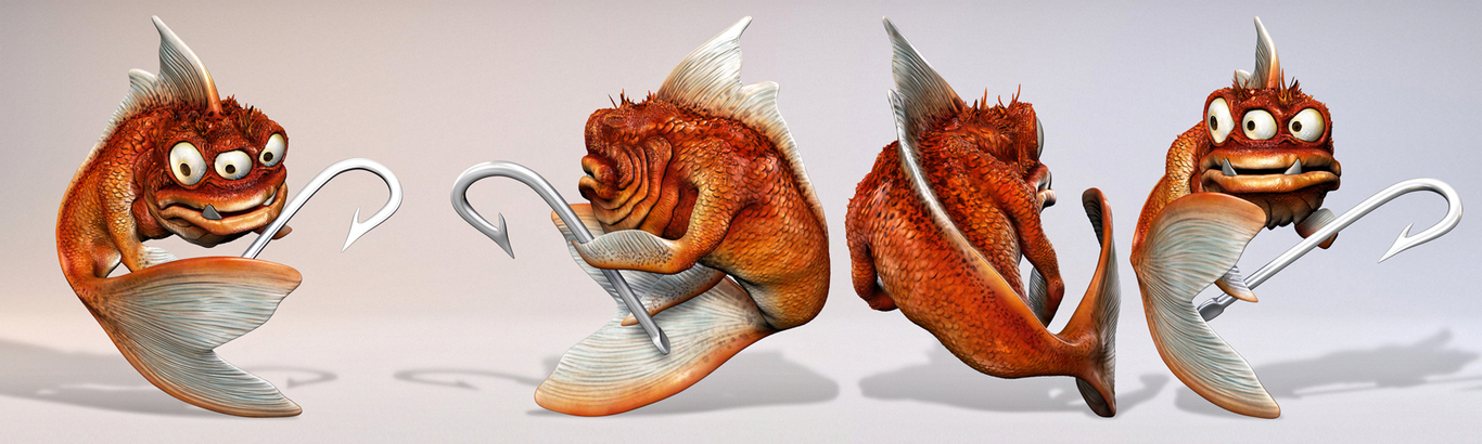 Filipgmelis evil goldfish model  1 035b1edd c9jk