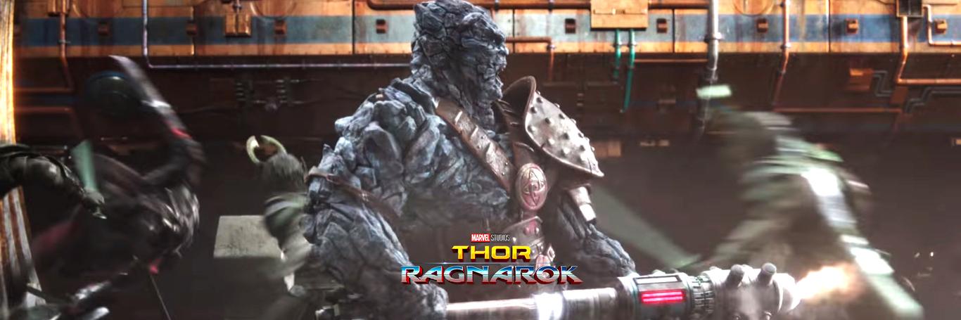 Korg_ Thor Ragnarok by frisbeeman | Creatures | 3D | CGSociety