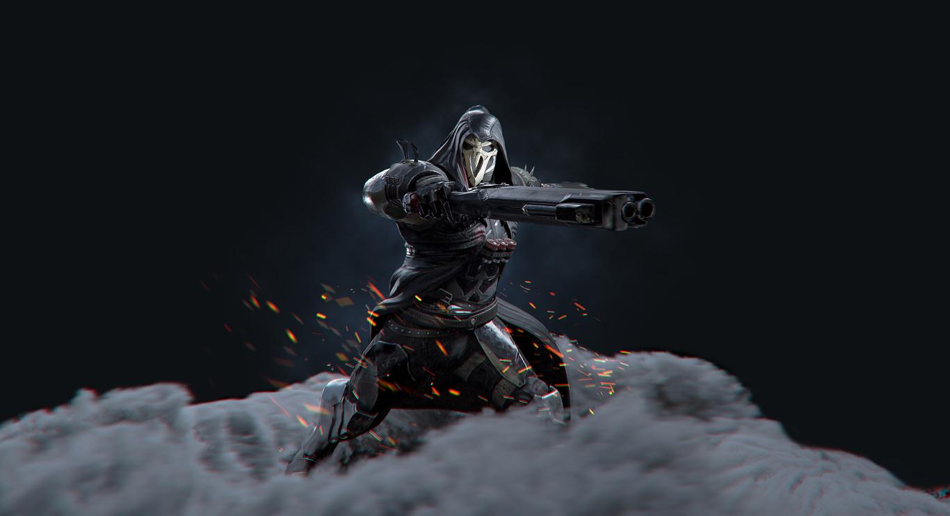 Reaper Fan Art (Overwatch) by GGandosh