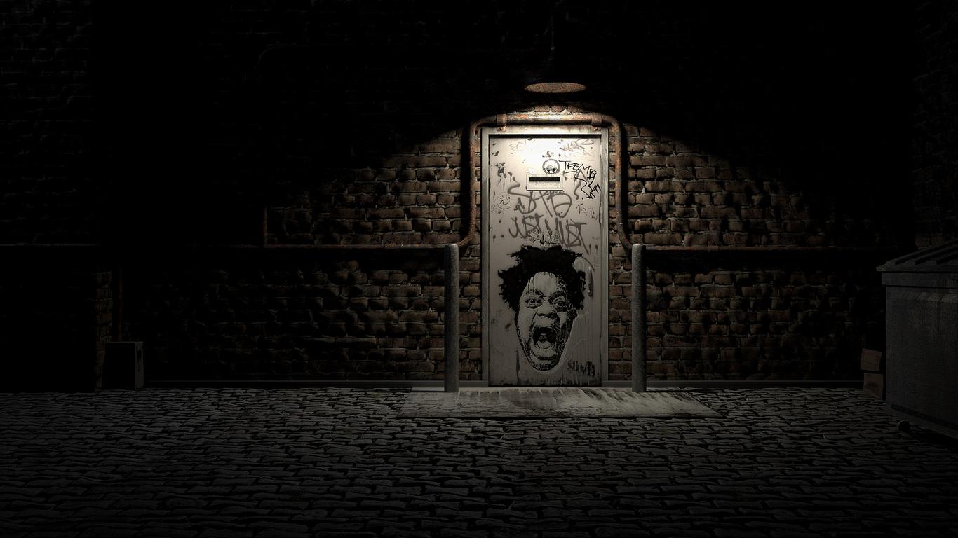 Secret Club Entrance