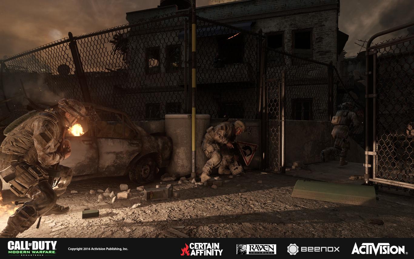 Call of Duty Modern Warfare - The Bog by JakCarver | Art | 3D