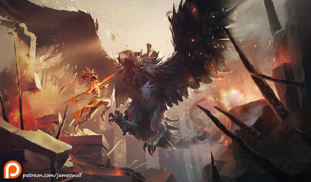Jameswolf flying death 1 de07379c frrd