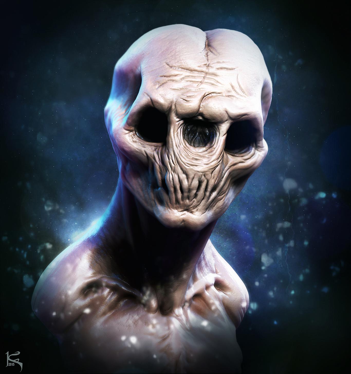 Josh Hardie Fan Art #2- Monster Creature Design Doodle