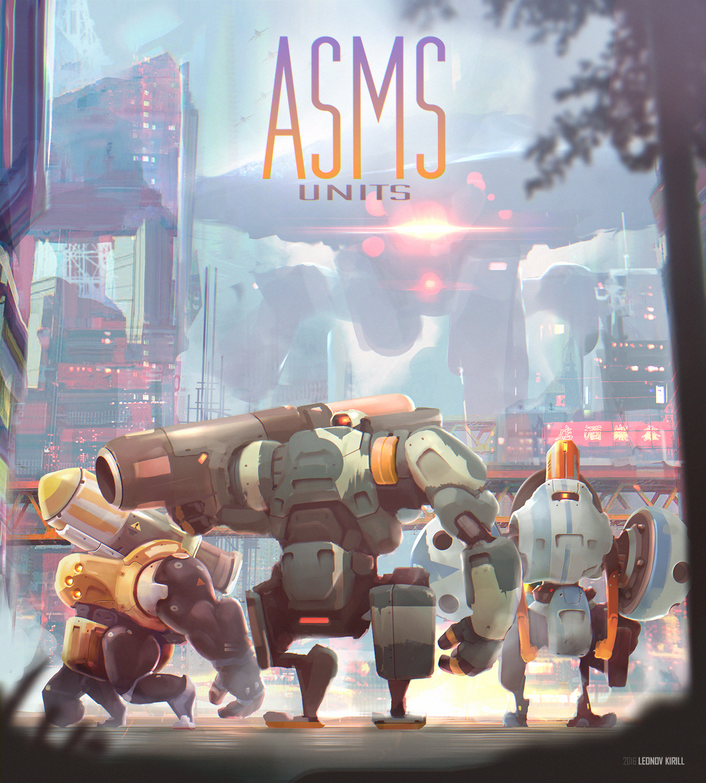 ASMS Units (Absolutely Senseless Mecha-Squad)