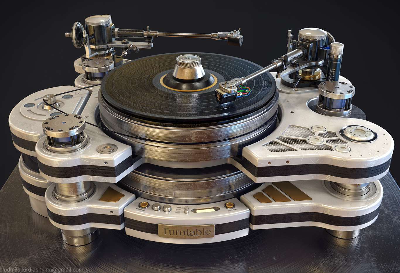 Turntable, part 2