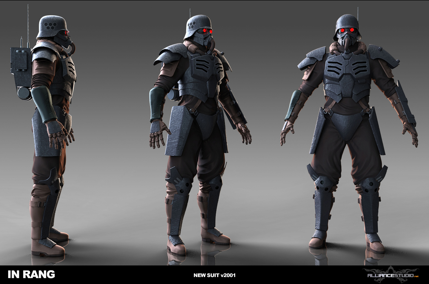Illang: The Wolf Brigade (2018) - Original Suit Concept by