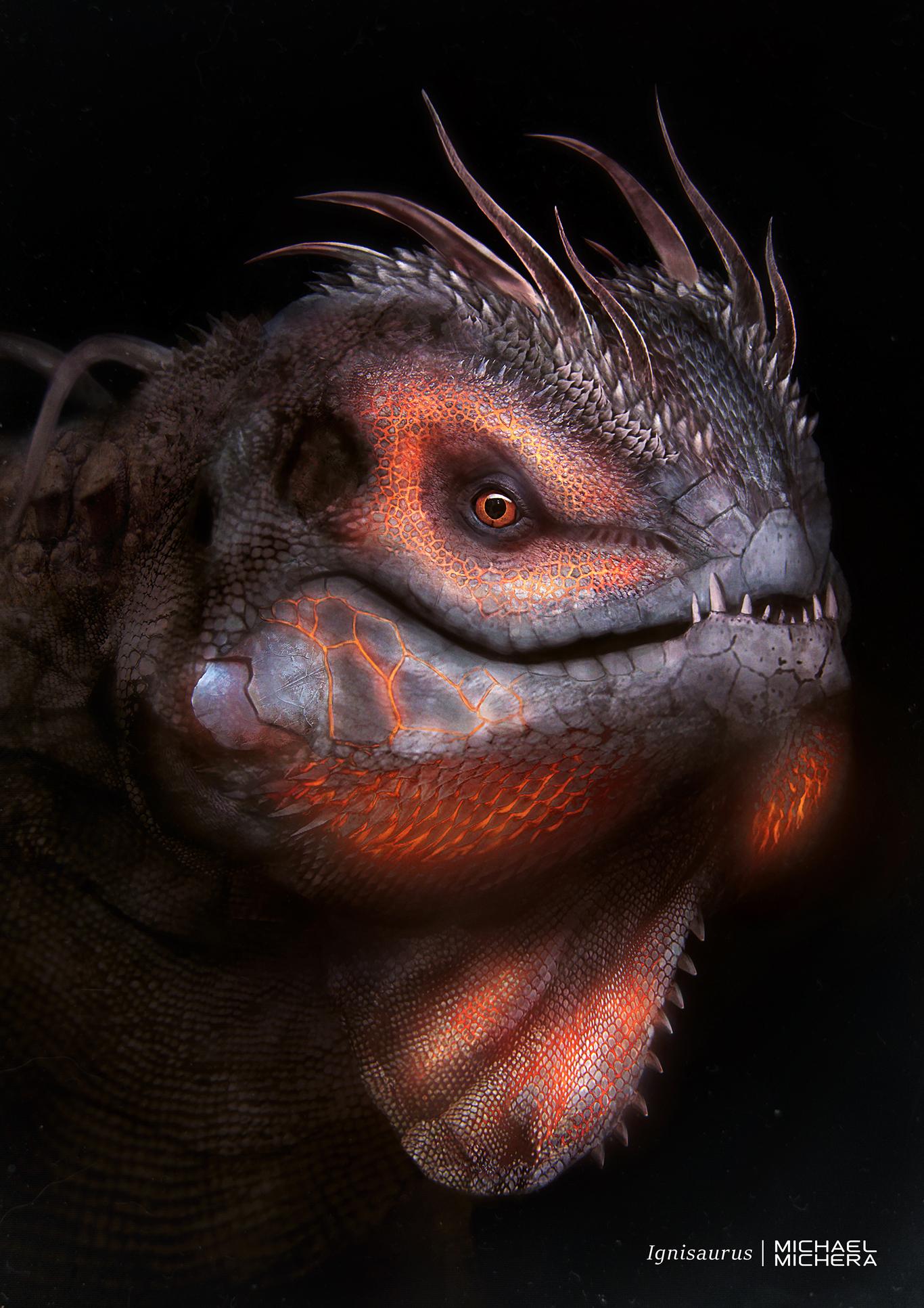 Michera ignisaurus glowing 1 2454a121 3hu2