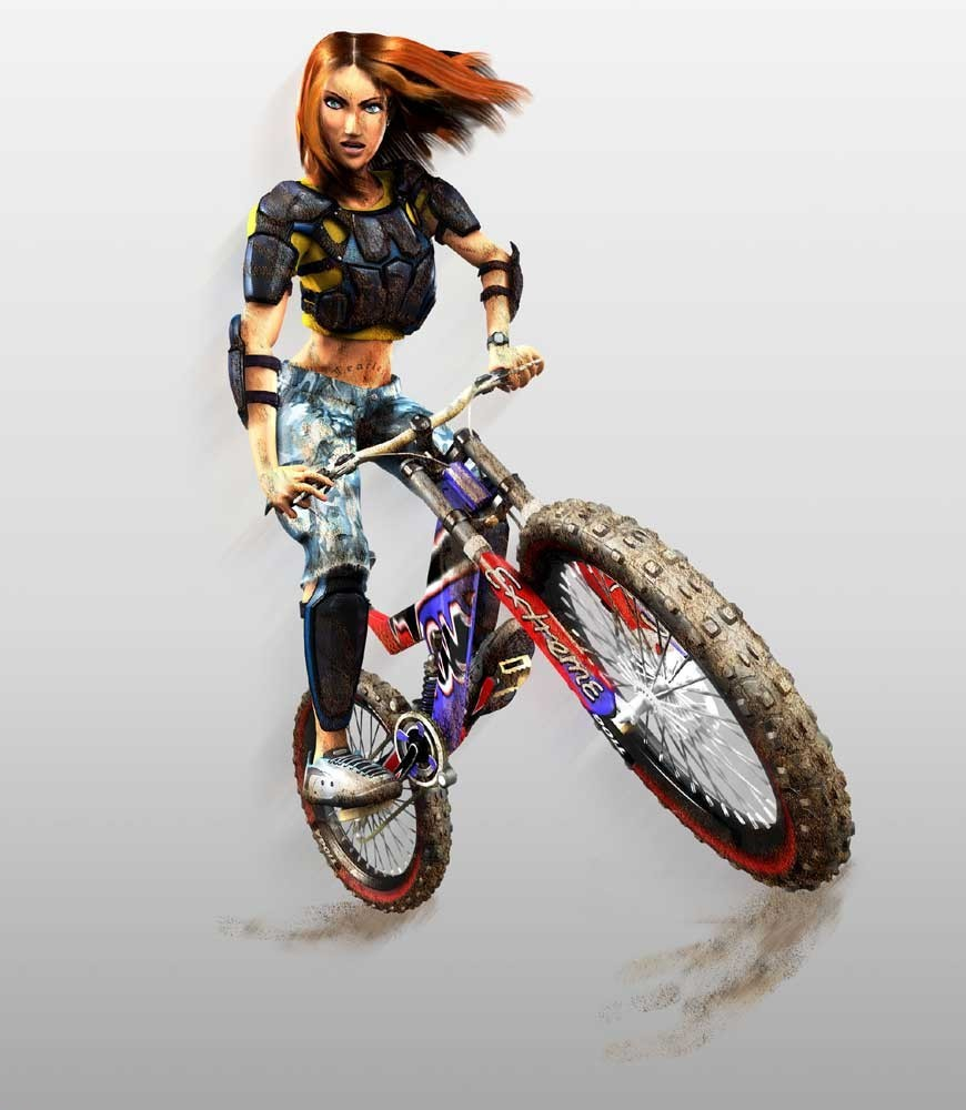 Downhill domination characters
