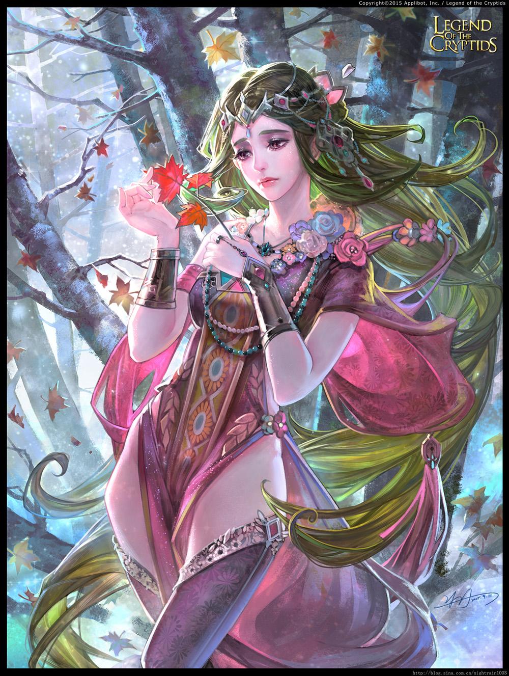 Foliage Dancer I