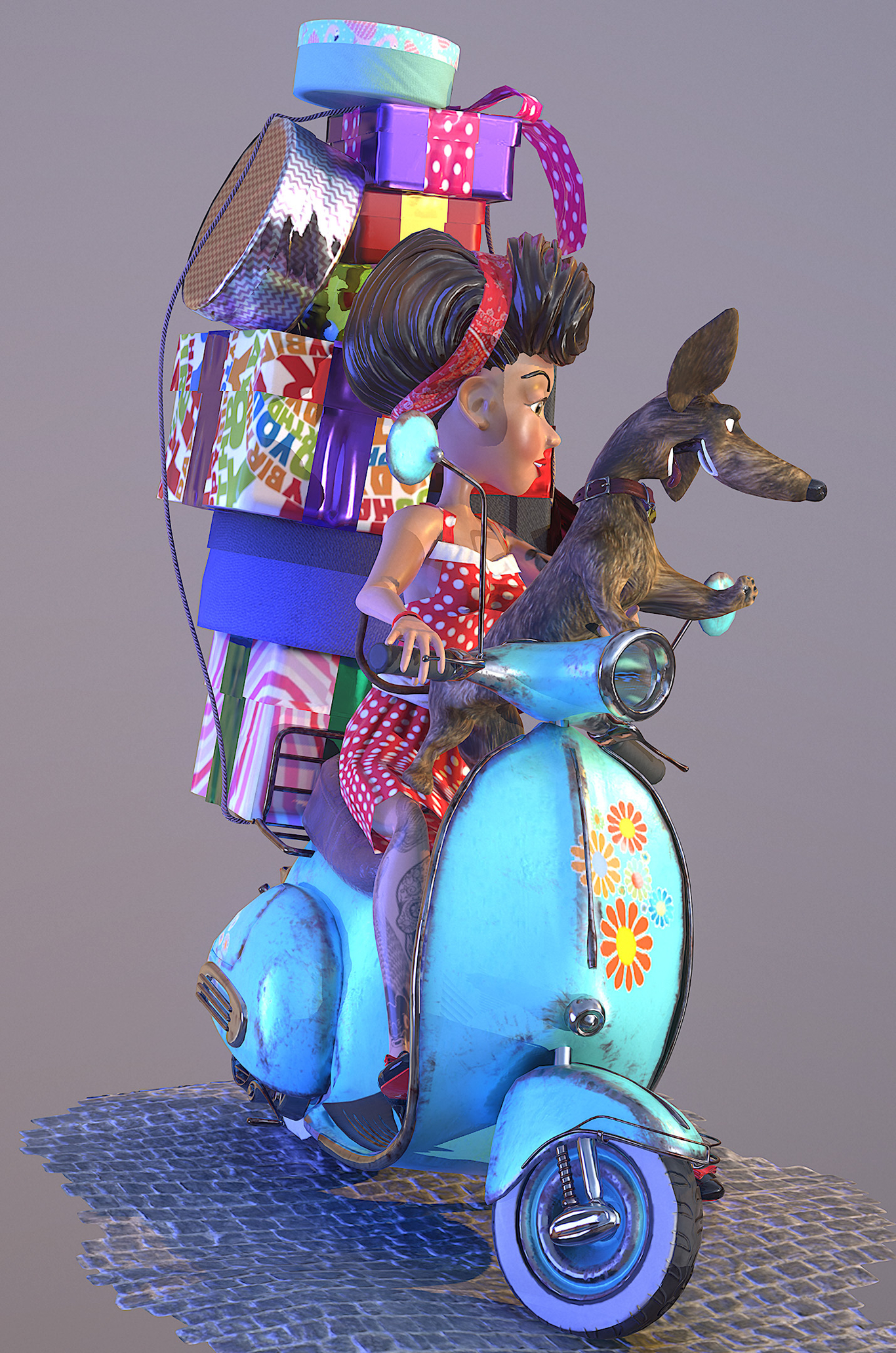 Rabaman71 girl on scooter 1 1371c79b npor
