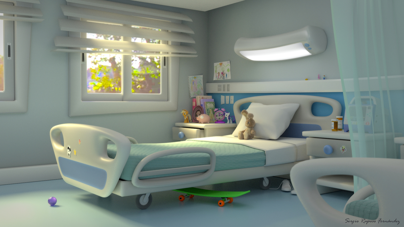 Hospital concepts by SergioRF | Cartoon | 2D | CGSociety